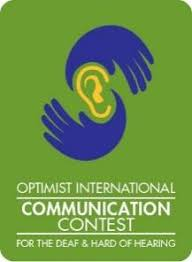 Optimist Communication Contest for Deaf and Hard of Hearing (CCDHH)