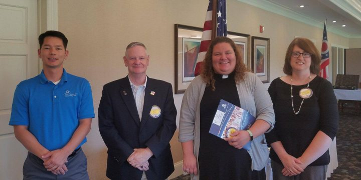 New Members Alert – George Scott and Rev. Janine Foster